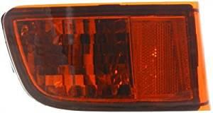 Evan-Fischer EVA23972052139 Bumper Reflector Rear Driver Side LH Lamp Light