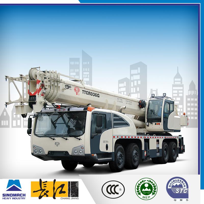 China Supplier 55 Ton Mobile Crane For Sale