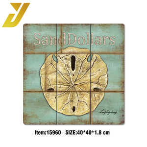 ocean style sand dollars wall plaque use for decorative house