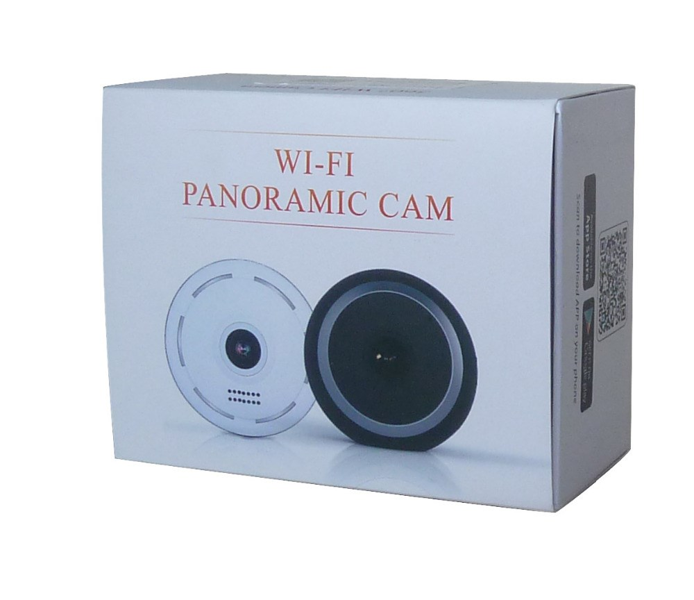 Easy installation 960P 1.3 Megapixel 360 degrees Wide Angle Surveillance Wireless Mini Security VR IP Camera
