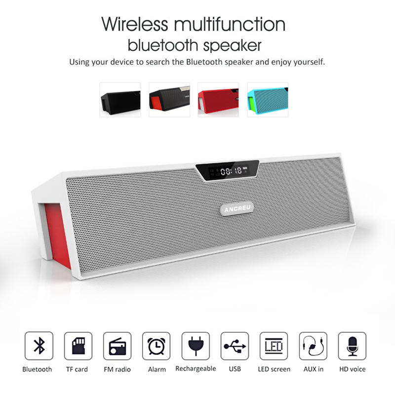 Portable OEM ANCREU 019 Wifi Music Mini Blue Tooth Speaker