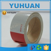 reflective conspicuity tape with free samples DOT - C2 white and red