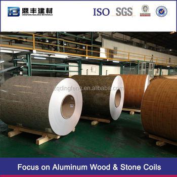Dingfeng Aluminum Coil Brushed Aluminum Cladding Wall
