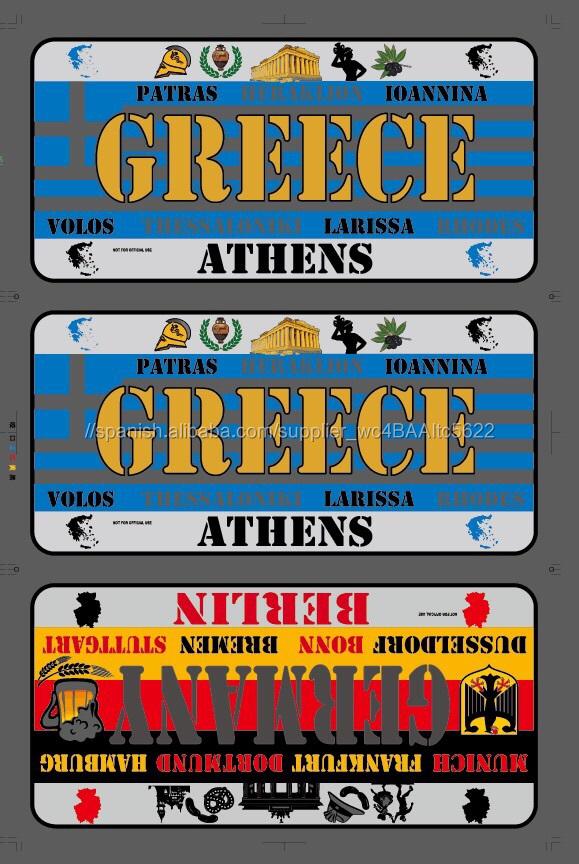 Grecia Decorativo Placas de Matrícula Del Coche-Artesanía Feng Shui-Identificación del producto:300009840713-spanish.alibaba.com