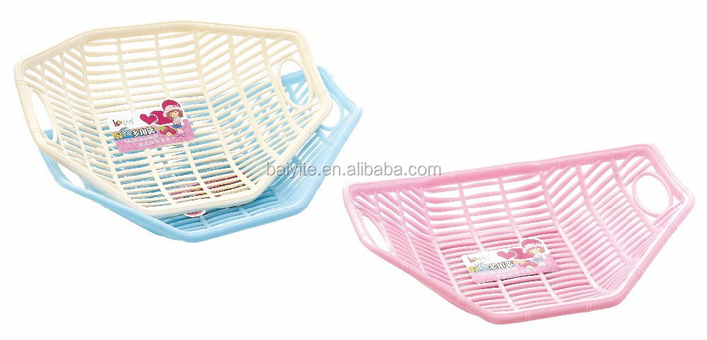 plastic dropping water basket food standard fruit basket