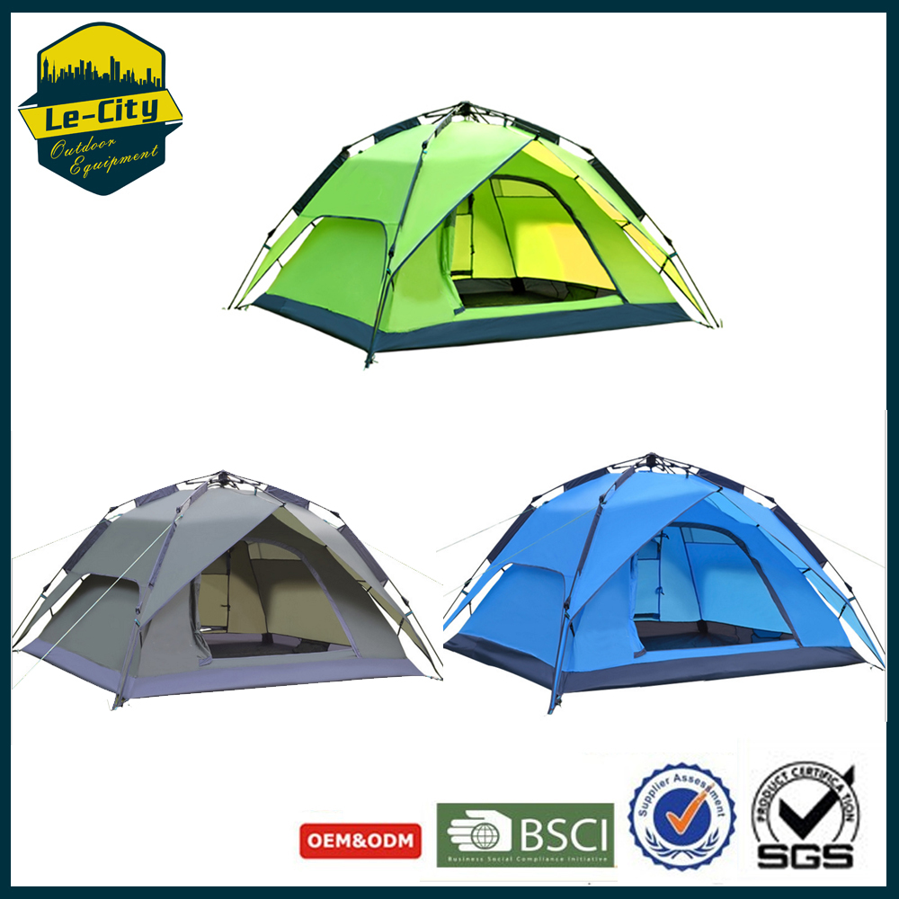 Outdor Equipment 2-3 Person Double Layer Outdoor Tents camping tents 4 season