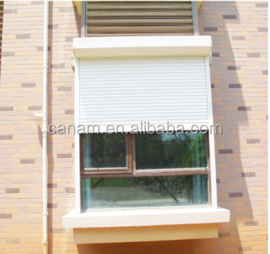 professional fireproof window metal rolling shutter