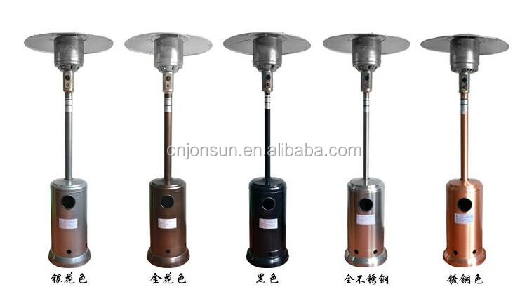 Stock Products Umbrella Type Gas Patio Heater, Natural Gas Heater For Sale  Heating Element