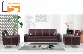 Office Leather Sofa Set Modern
