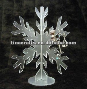 Frost Acryl Schmuck Display