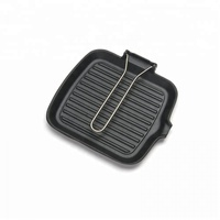 Best Cast iron square grill pan 24cm