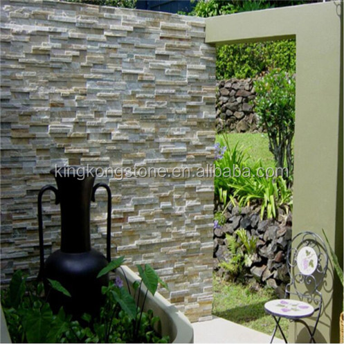 Hot Saled Natural Stone P014 Slate Wall Stone Tile