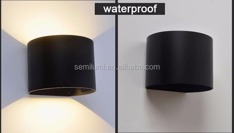 Regolabile rotondo ha condotto la luce esterna della parete cob
