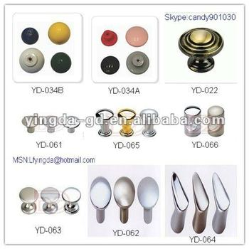 Yd-022-066 Different Types Plastic/zinc Alloy Oval Door Knobs From ...