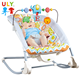 Infant to toddle happy musical vibrate cradle chair baby rocker swing