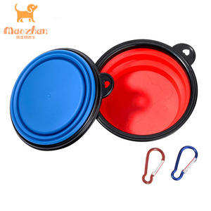 South Africa pet bowl with handle carabiner camouflage colors