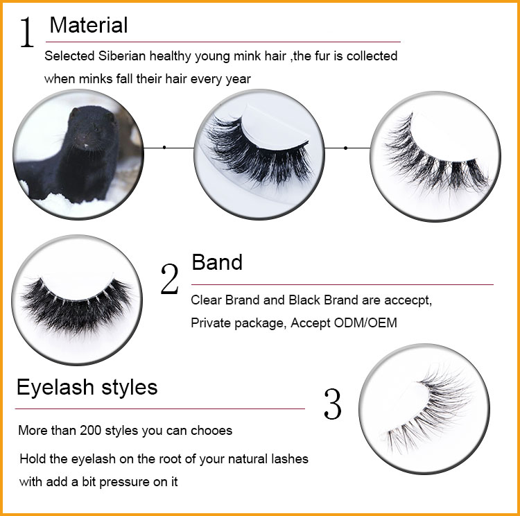 4debcb2b375 3D Mink Eyelashes, 3D Mink Eyelashes direct from Qingdao Yummy Eyelashes  Industry And Trade Co., Ltd. in CN