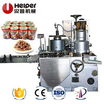 Canned wet pet food making machine