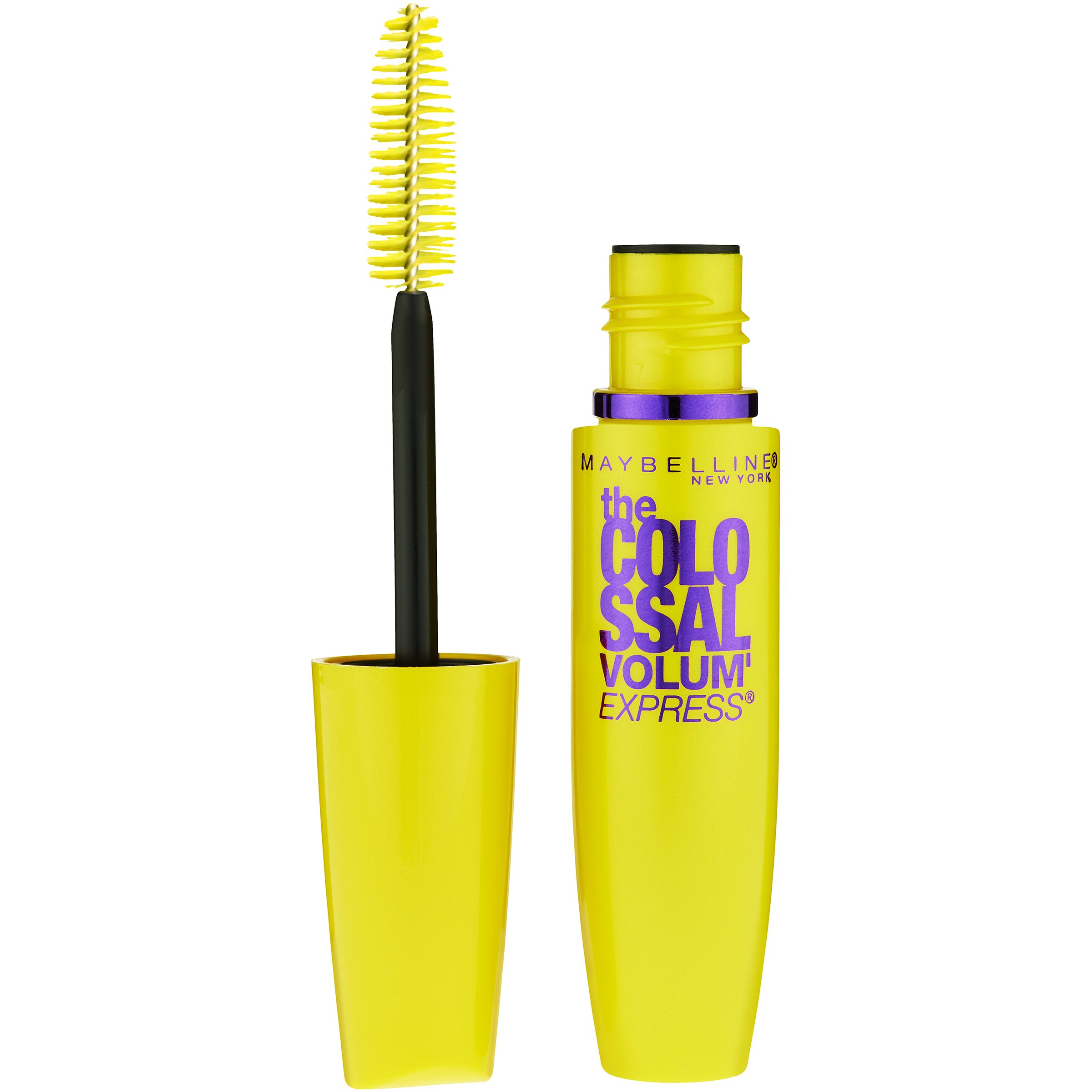 bc107d2863b Get Quotations · Maybelline Makeup Volum' Express The Colossal Washable  Mascara, Glam Black Mascara, 0.31 fl