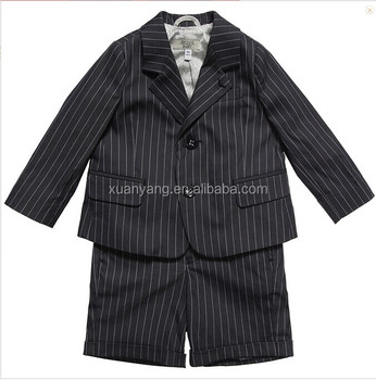 Baby Boys Pinstripe 2 Piece Short Suit,Fashion Boy Suit Design ...
