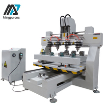 Promotion! 4 Axis Cnc Wood Furniture Legs Engraving Machine Cnc Router With CE Certificate