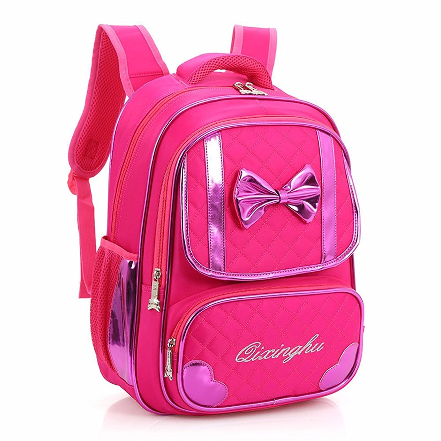 47f8af6110 Dsinlare Cute Elementary School Bowknot Girls Bookbags for Kids Backpacks