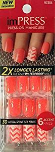 "**NEW 2015** KISS 2x Longer Lasting imPRESS ""SYMPHONY""2 by Broadway Press-On Manicure Nails"