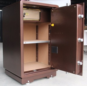 money safe deposit locker lock box gun safe locker with high quality