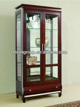 Modern Style Wooden Display Cabinet Curio Hutch Bg90367