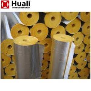 100mm thickness 48kg/m3 industrial heat insulation saudi arabia glass mineral wool tube