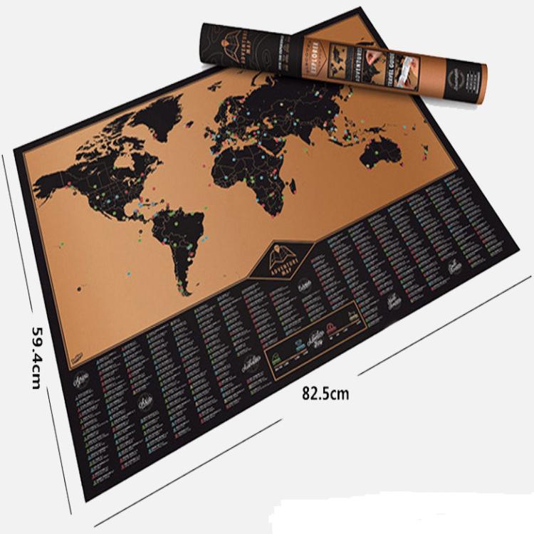 Manufacturer Modern Weight G Deluxe Scratch World Map Buy - Scratch world map us manaufacturuer