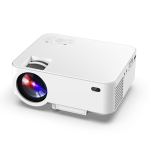 Free Shipping Portable HD LED Video Projector Home Cinema 3D Effect 1080P Multimedia smartphone mini lcd Projector