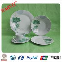 Wholesale ceramic white dinner plate/Dining table set