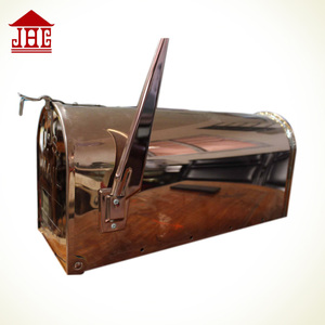 US metal mailbox flags/Newspaper box for house/Durable mailbox