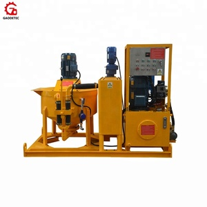 GGP300-300-75PI-E high performance electric grout pump station machine price