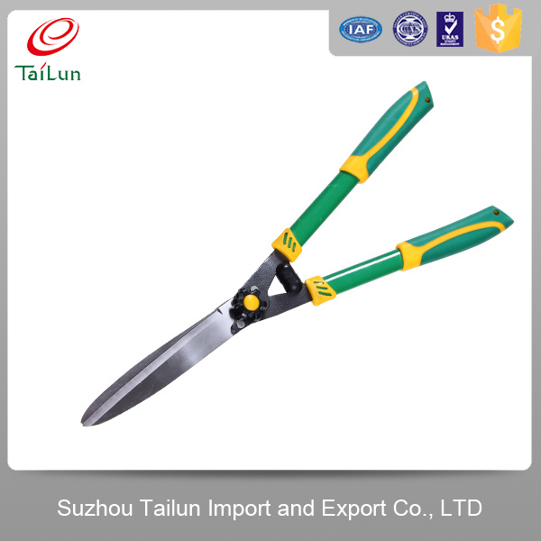 "High Quality 23""Electroplate 65Mn Carbon Steel Long Handle Hedge shear"