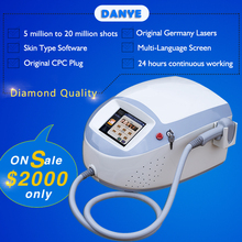 808 shaving germany laser diode bar 50w soprano ice diode laser hair removal machine price