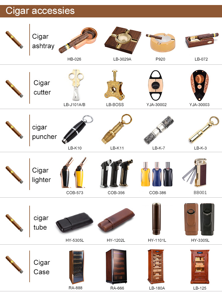 2019 travel case prices flame accessories custom logo gift metal cigar lighter ashtray cutter cigar set