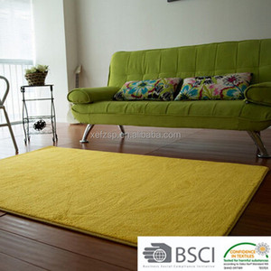 yellow soft eco kids floor carpet and rug for sale