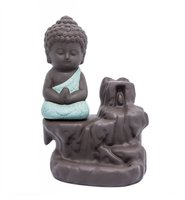 Antique Ceramic Buddha Smoke Back Flow incense burner