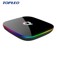 Android8.1 Smart TV box Q boxes IPTV 4K Allwinner H6 WIFI BT Q-box For Television Streaming
