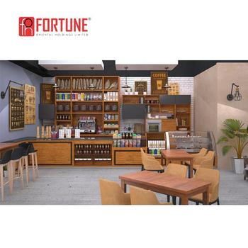 Commercial Used Restaurant Furniture Coffee Counters Front Desk Reception