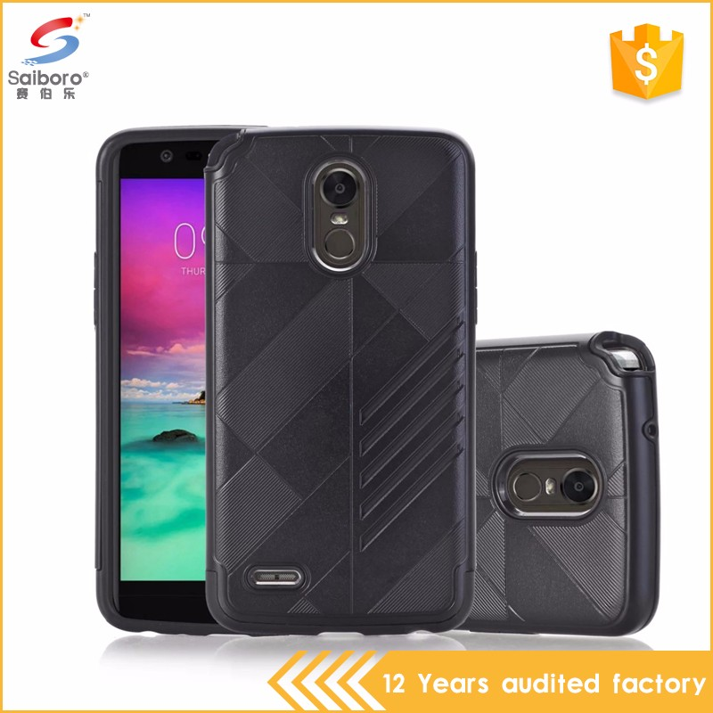 Best quality tpu pc 2 in 1 for LG Stylo 3 hybrid case