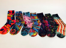 Wholesale Colorful 3D Printed Socks