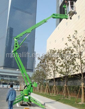 top quality aerial work platform towed genie lift