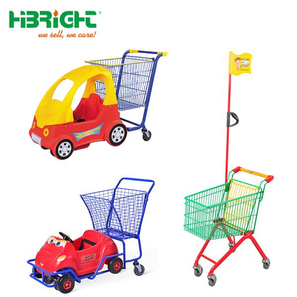d8158fac9 متاجر حجم مول البلاستيك الطفل عربة الأطفال عربة التسوق لعبة معدنية للأطفال