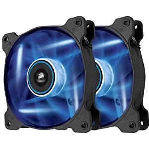 "Corsair Air Series Af120 Led Blue Quiet Edition High Airflow 120Mm Fan . Twin Pack . 1 X 4.72"" . 1500 Rpm . Plastic ""Product Type: Accessories/Processor/Case Fans"""