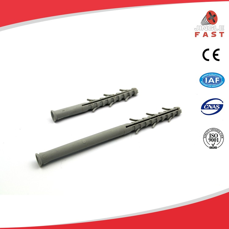 Factory directly sales plastic nylon hollow wall nail anchor