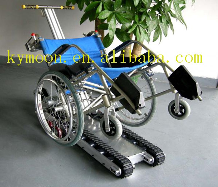 Folding Lightweight Small Robot Wheelchair Rubber Track