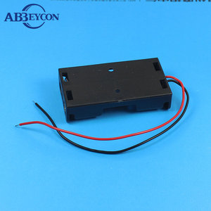 18650 2 Aa Battery Holder With Cover And Wires